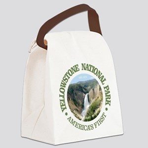 Yellowstone NP Canvas Lunch Bag