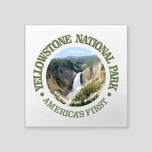 Yellowstone NP Sticker