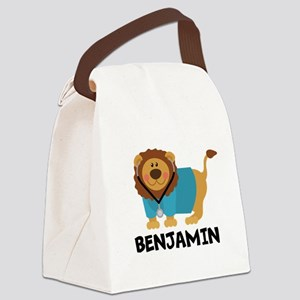 Personalized Male Nurse Or Doctor Canvas Lunch Bag