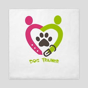 dog trainer Queen Duvet