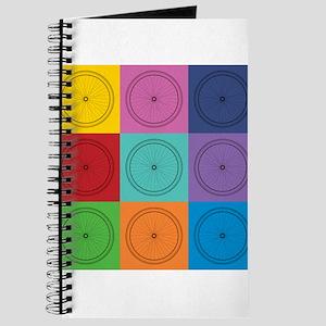 Pop Art Bicycle Pattern Journal