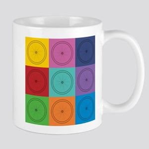 Pop Art Bicycle Pattern Mugs