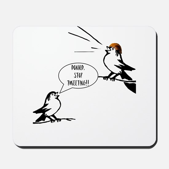 Donald Trump Tweeting Mousepad