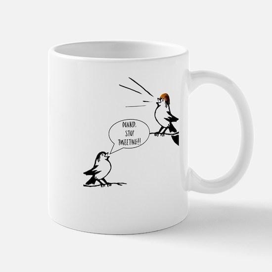 Donald Trump Tweeting Mugs