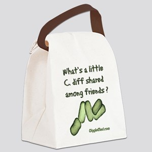 wash-hands-02 Canvas Lunch Bag