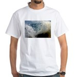 p2511. wavecrash, downcape White T-Shirt