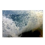 p2511. wavecrash, downcape  Postcards (Package of