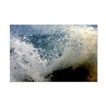 p2511. wavecrash, downcape  Mini Poster Print