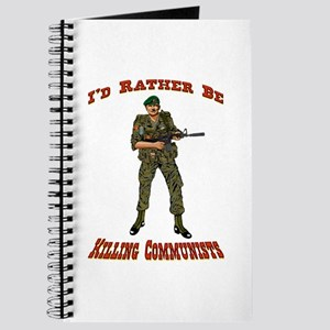 Rather Be Killing Commies Journal