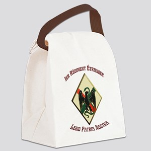 1St Regiment French Foreign Legion Canvas Lunch Ba