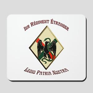 1st Regiment French Foreign Legion Mousepad