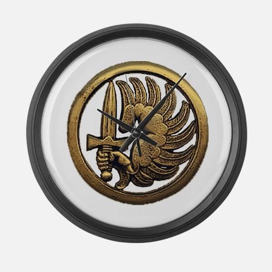 Foreign Legion Para Large Wall Clock