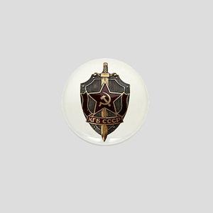 KGB Mini Button