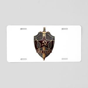 KGB Aluminum License Plate
