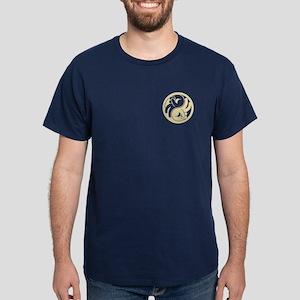 Peace Hands Yin Yang Dark T-Shirt
