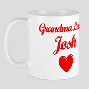 Grandma Loves Josh Mug