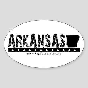 Arkansas Oval Sticker
