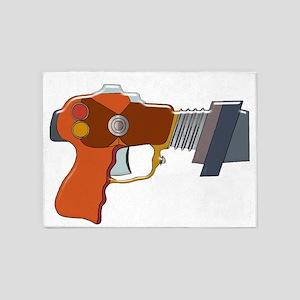 Ray Gun 5'x7'area Rug