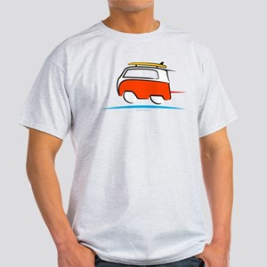 Red Shoerty Van Gone Surfing Light T-Shirt