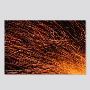 p2083. fire, quebec Postcards (Package of 8)