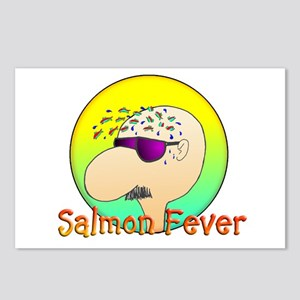 SALMON FEVER Postcards (Package of 8)