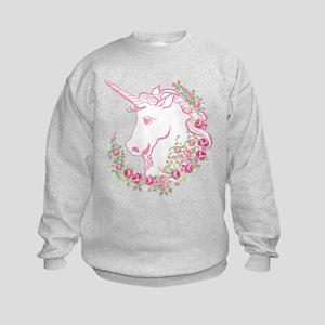 Unicorn and Roses Sweatshirt
