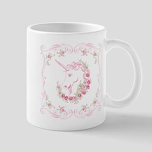 Unicorn and Roses Mugs