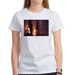 p2066. dusk conversation.. Women's T-Shirt