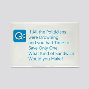 Politician Sandwich Magnets
