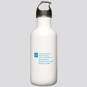 Politician Sandwich Stainless Water Bottle 1.0L