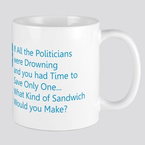 Politician Sandwich Mugs