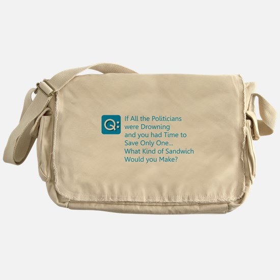 Politician Sandwich Messenger Bag