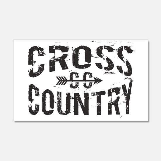 cross country Wall Decal