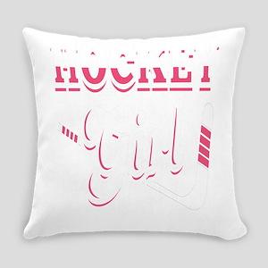 Hockey Girl Everyday Pillow