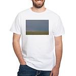 p1910. windmill, noreast colorado.. White T-Shirt