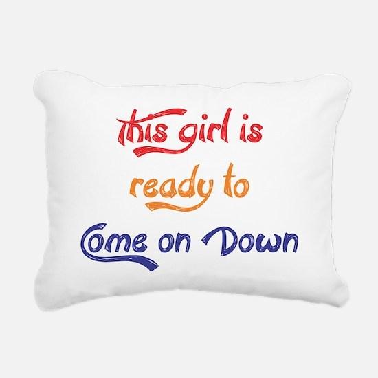 Cute Contestants Rectangular Canvas Pillow