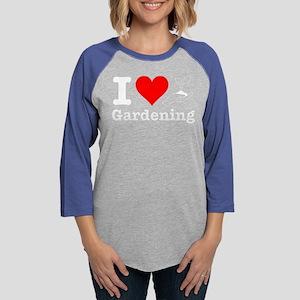 I Heart Gardening Long Sleeve T-Shirt
