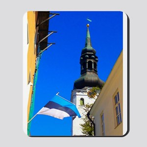 Blue Skies of Estonia Mousepad