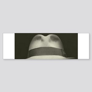 Fedora Bumper Sticker