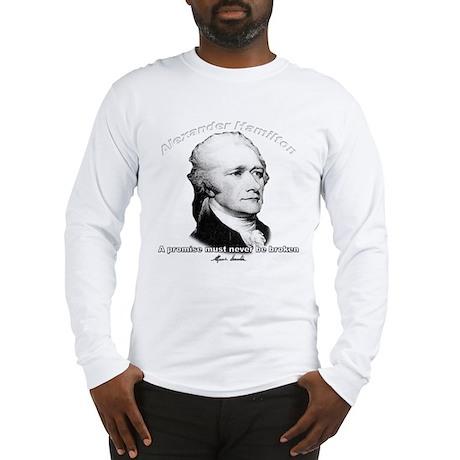 Alexander Hamilton 01 Long Sleeve T-Shirt