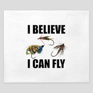 I Believe I Can Fly King Duvet