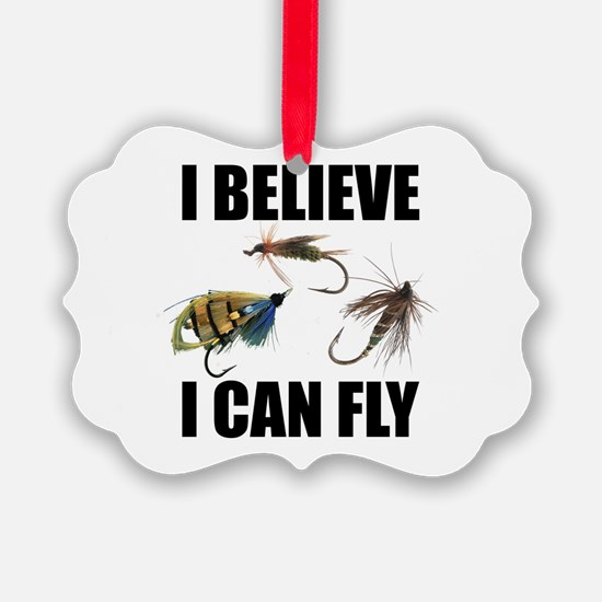 I Believe I Can Fly Ornament