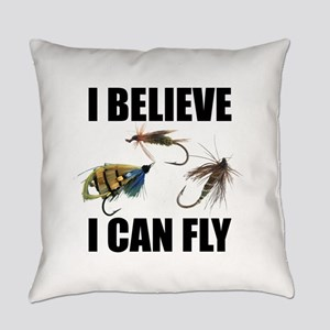 I Believe I Can Fly Everyday Pillow