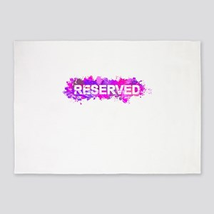 Reserved 5'x7'Area Rug