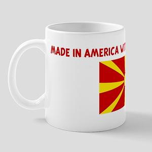 MADE IN AMERICA WITH MACEDONI Mug