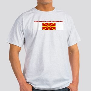 MADE IN AMERICA WITH MACEDONI Light T-Shirt