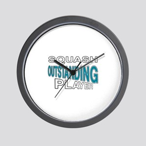 Squash Outstanding Player Wall Clock