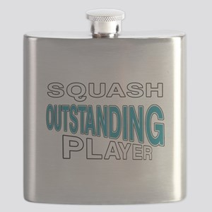 Squash Outstanding Player Flask