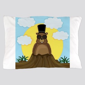Groundhog day Pillow Case
