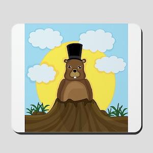 Groundhog day Mousepad